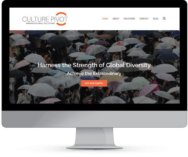 culturepivotsolutions.com, WordPress website design and development