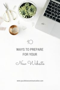 10 Ways to Prepare for Your New Website from www.puzzleboxcommunications.com