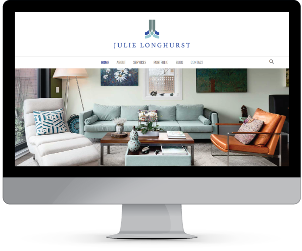 Web Design and Development for JulieLonghurst.com