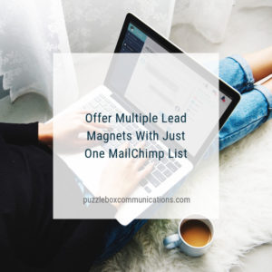 Offer Multiple Lead Magnets with Just One MailChimp List