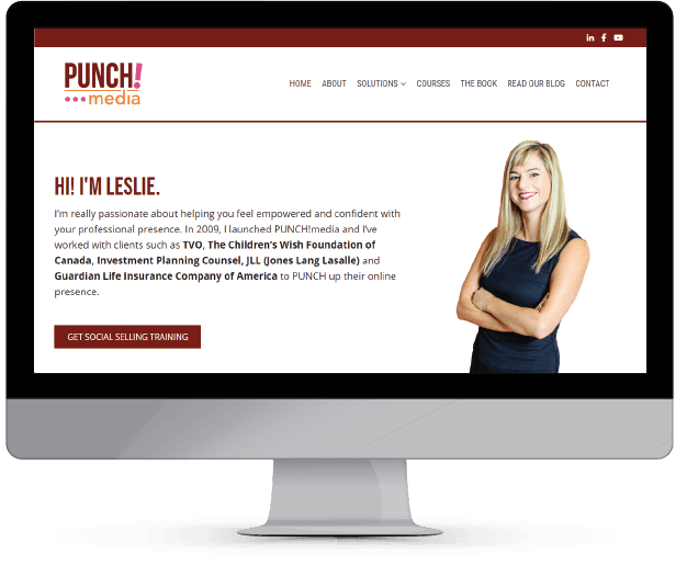 Web Design and Development for PUNCH!media