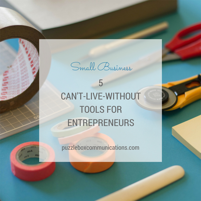 tools for entrepreneurs via puzzleboxcommunications.com